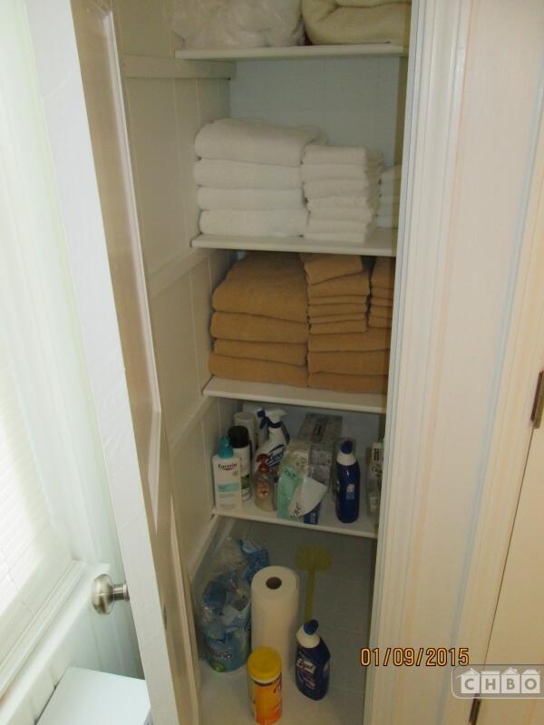 Linen closet, Master Bedroom Bathroom
