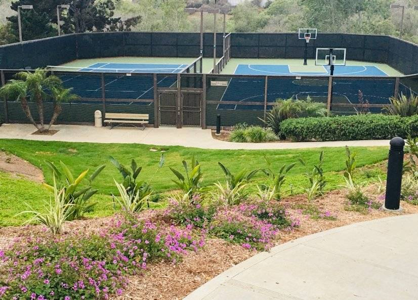 Tennis & Basketball Courts at no extra charge.