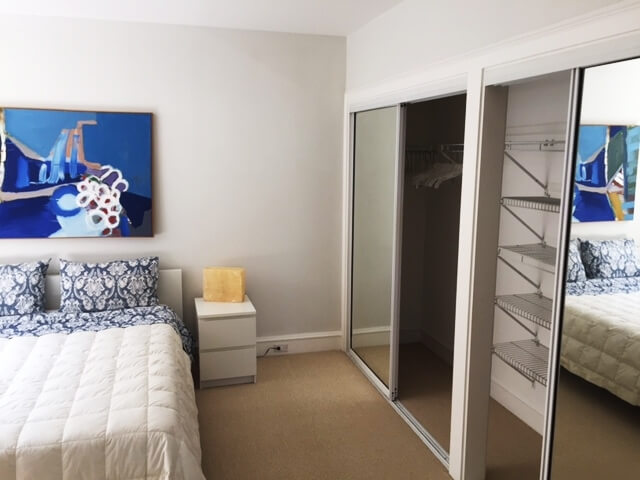 Excellent storage closet in bedroom/2nd closet not visible