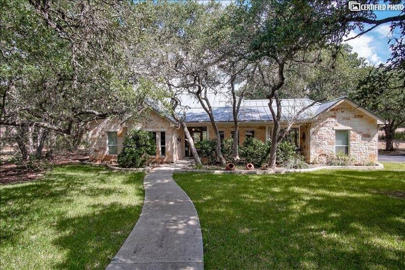 Charming furnished home with beautiful landscaping