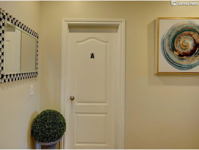 Suite A  - Entry.