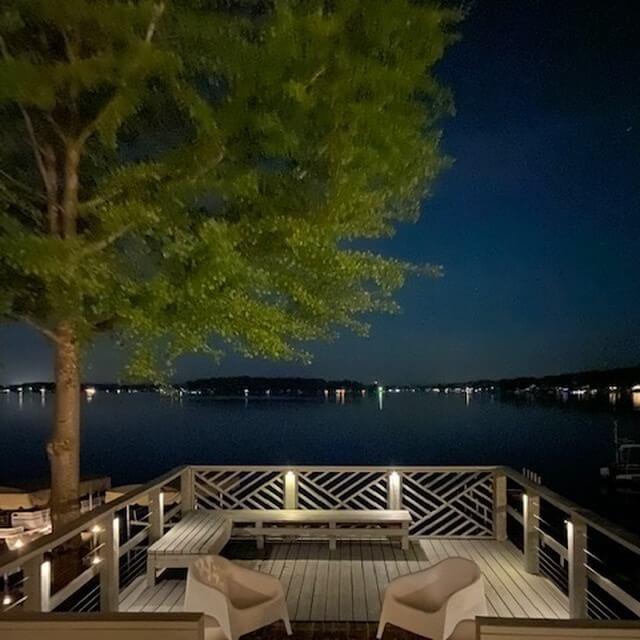 Sparkling Lake Views