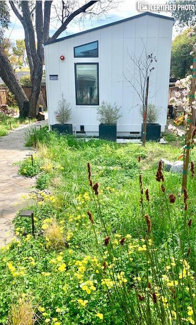 Beautifully landscaped yard