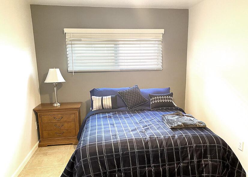 Beautiful airy bedroom