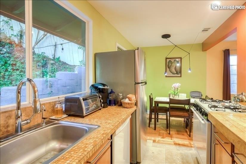 Sink,  Toaster Oven & Keurig Coffeemaker