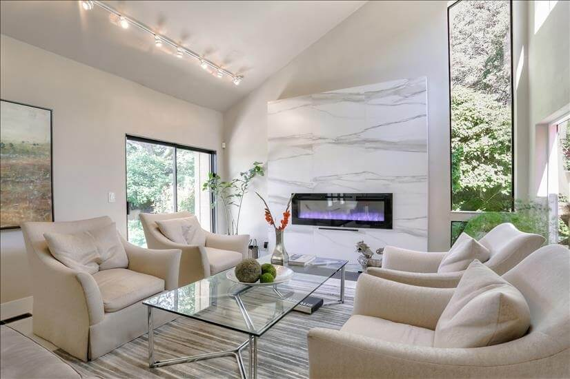 Relax in an inviting living room