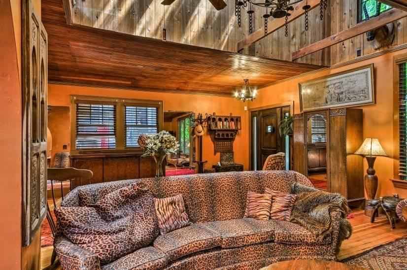 Living room looking towards front door