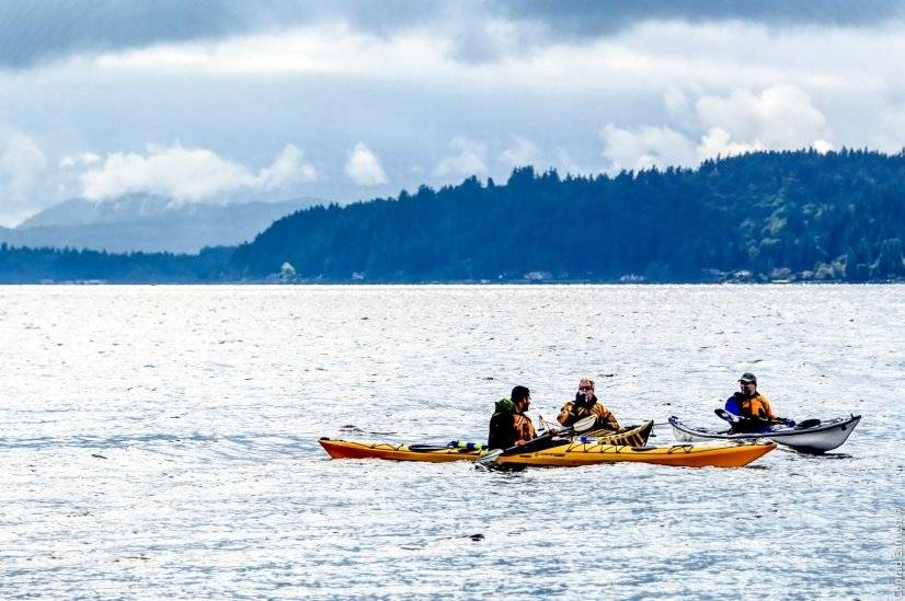 Waterfront activities out your door