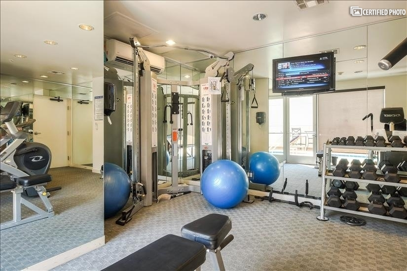Fitness Room View from entrance