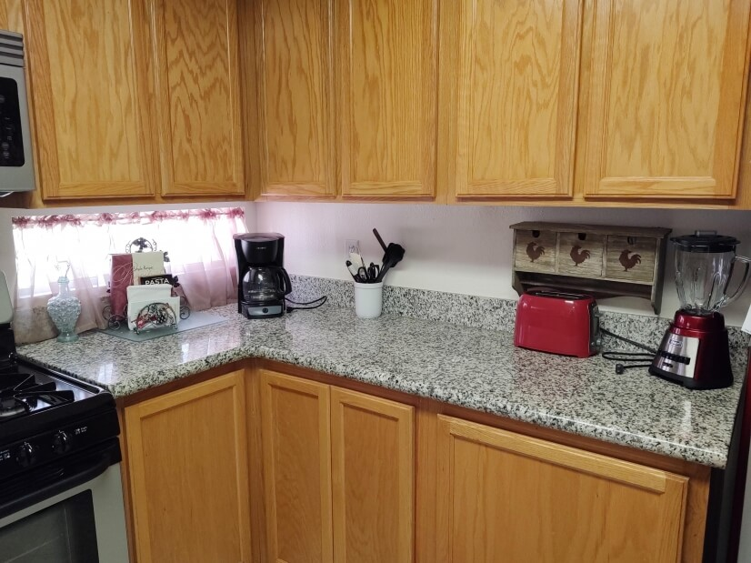 Kitchen right side small appliances for your