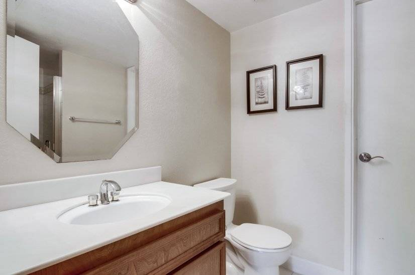 Downstairs Guest Bath with Walk-in Shower
