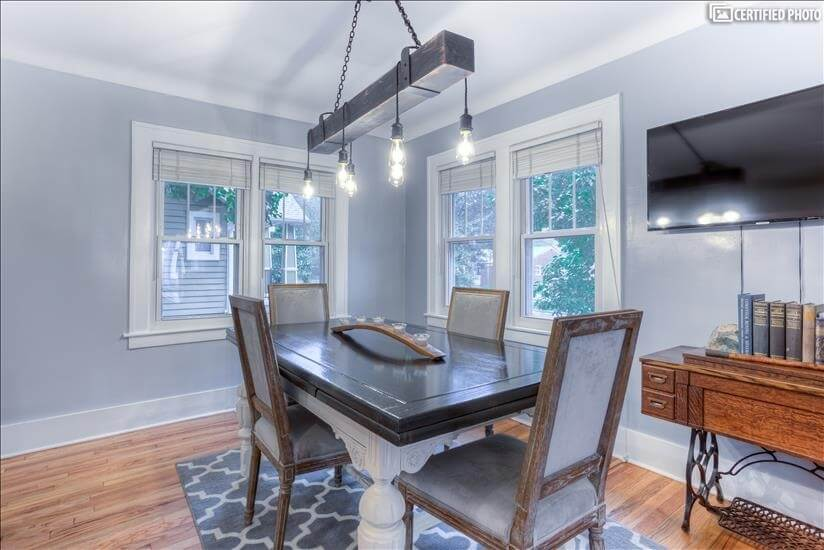 Beautifully refurbished antique dining room s
