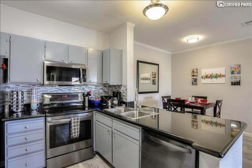 Modern Kitchen with All New Appliances