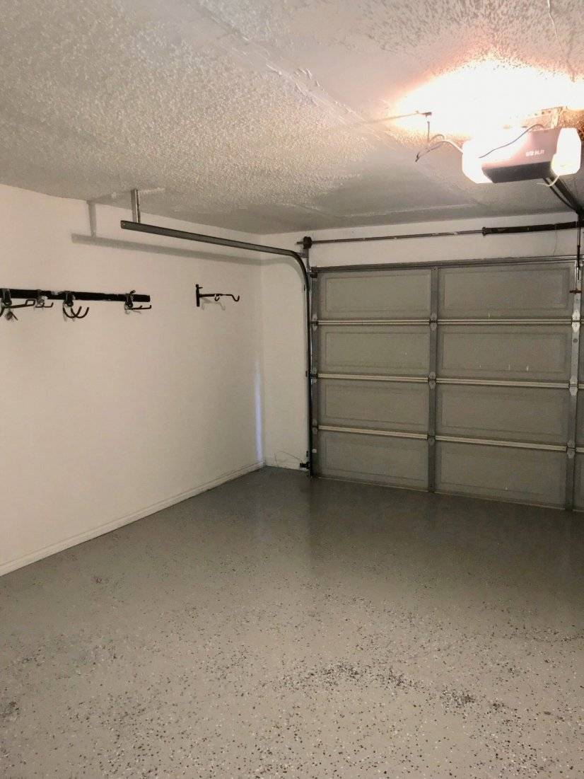 Two car attached garage