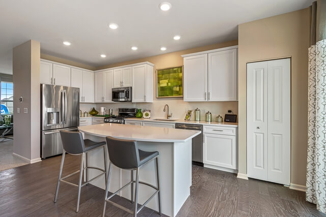 Kitchen with Pantry View