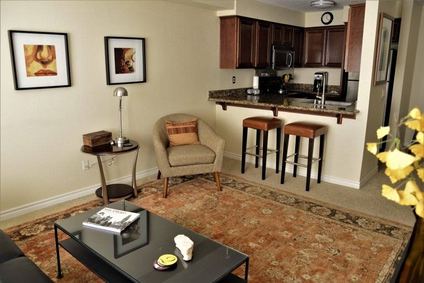 image 2 furnished 1 bedroom Townhouse for rent in Hillcrest, Western San Diego