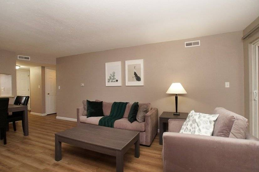 image 2 furnished 1 bedroom Townhouse for rent in Kirkwood, St Louis Area