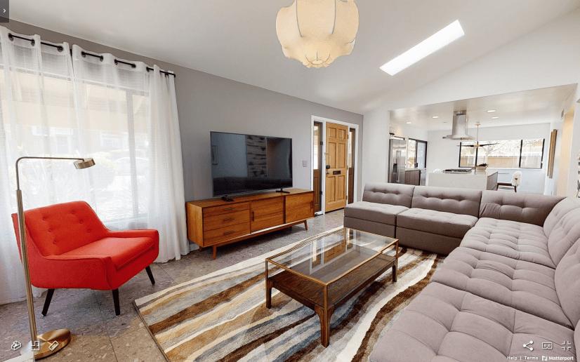 Tierrasanta Furnished Home - Living Room