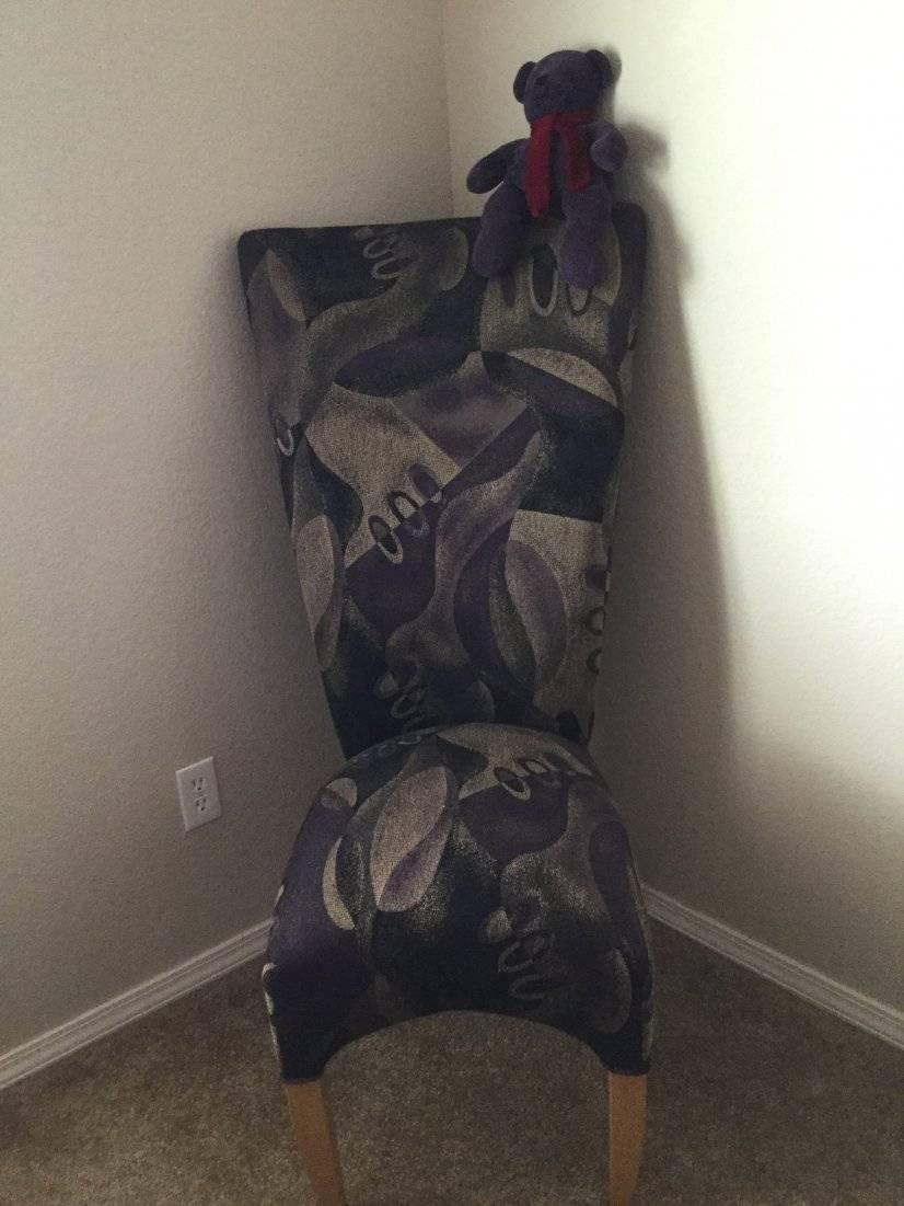 Corner Bedroom, Chair : )