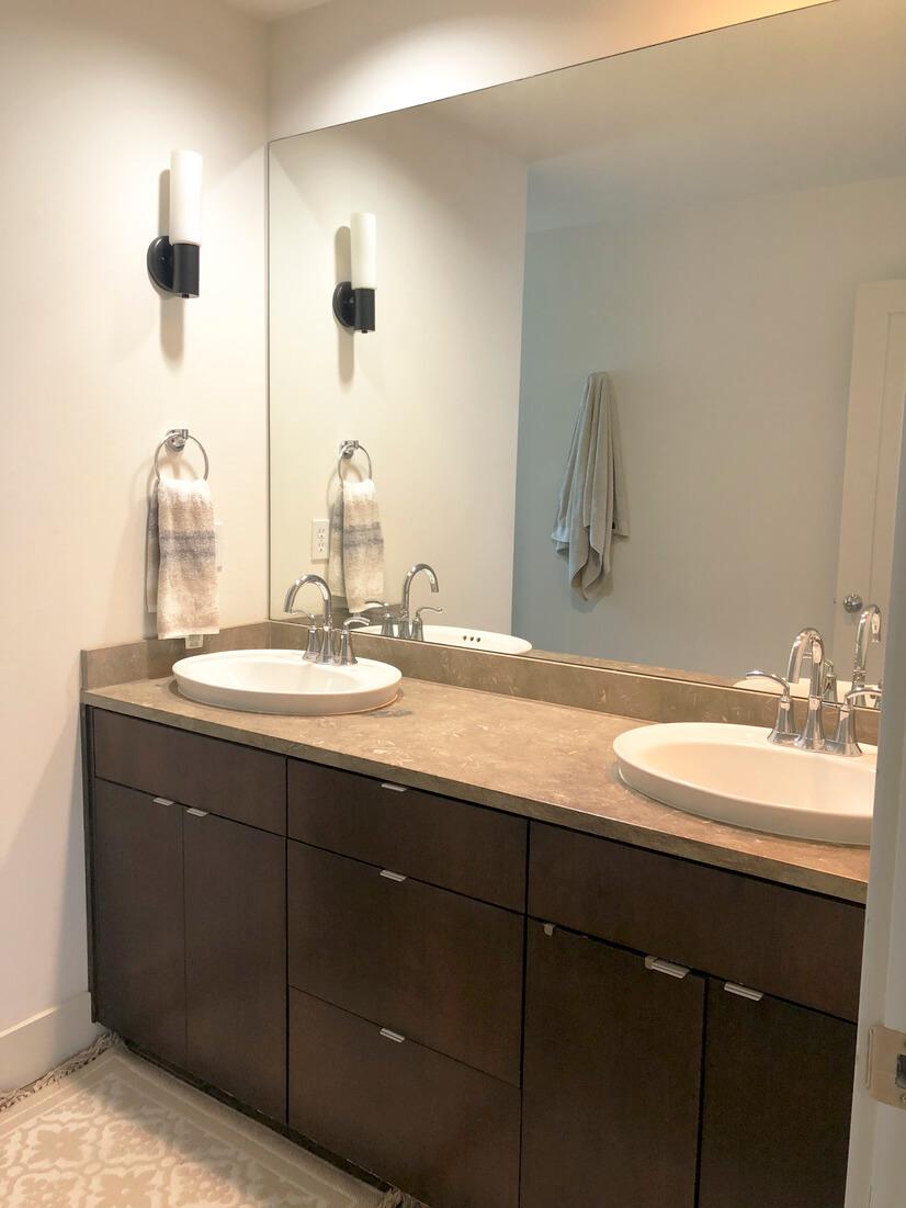 Primary Bath Double Vanity