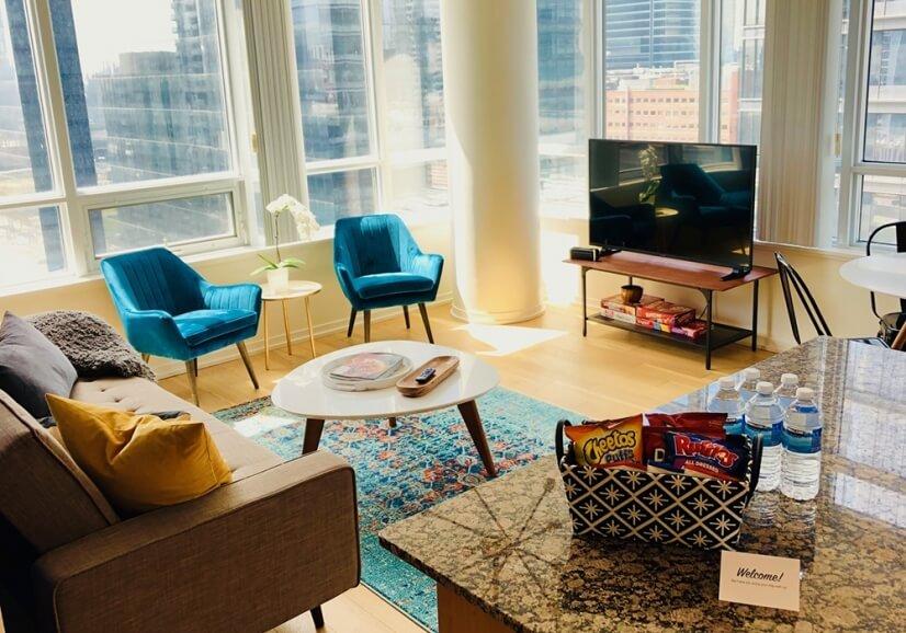 Main living area awaits you!