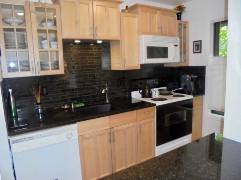 Kitchen and dishwasher
