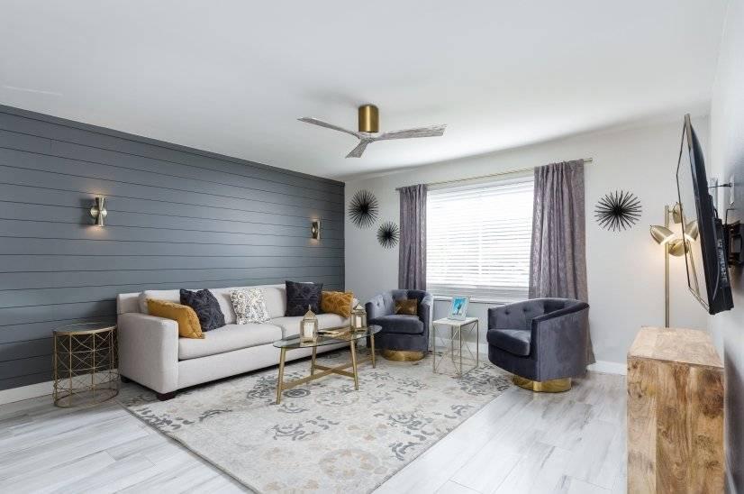 Living Room of 2B/2B Alternative