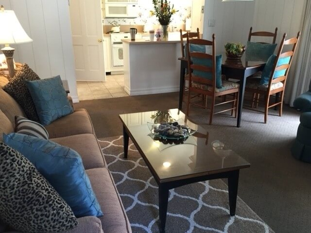 Walk into Living/Dining/Kitchen