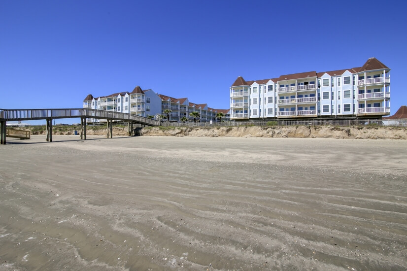 Seascape Resort from the Beach