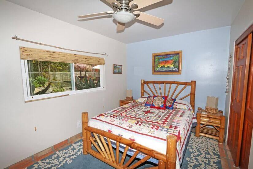 Downstairs queen tempurpedic guest bedroom