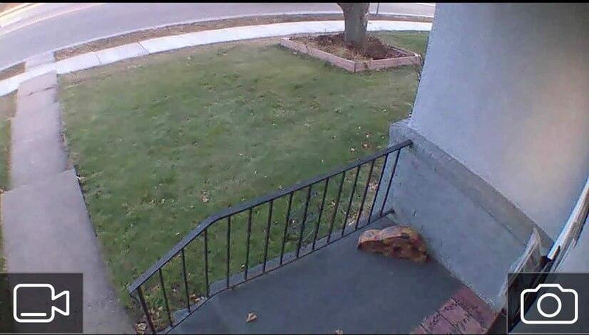 Exterior Security Camera - Front door
