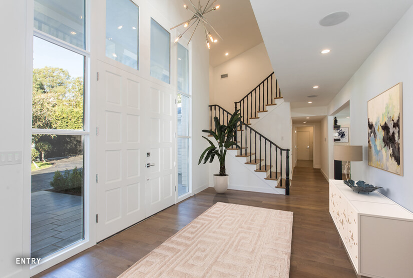 Entry Way - Virtually Staged