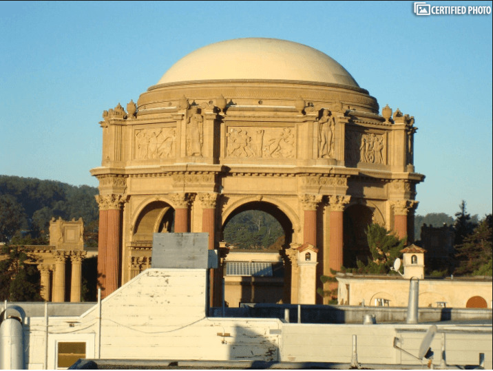Palace of Fine Arts from Deck