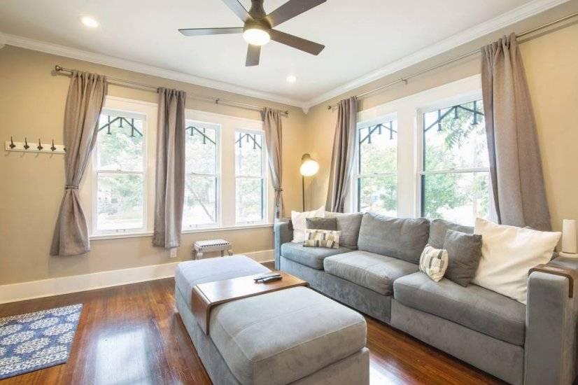 Comfy, spacious seating