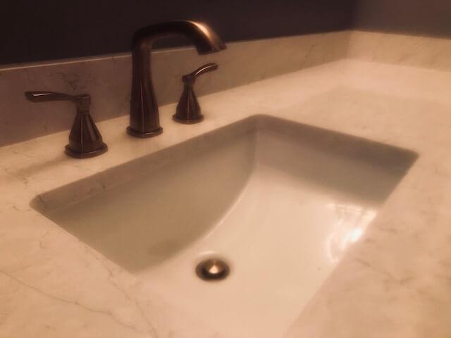 Bathroom- new fixtures & quartz counter