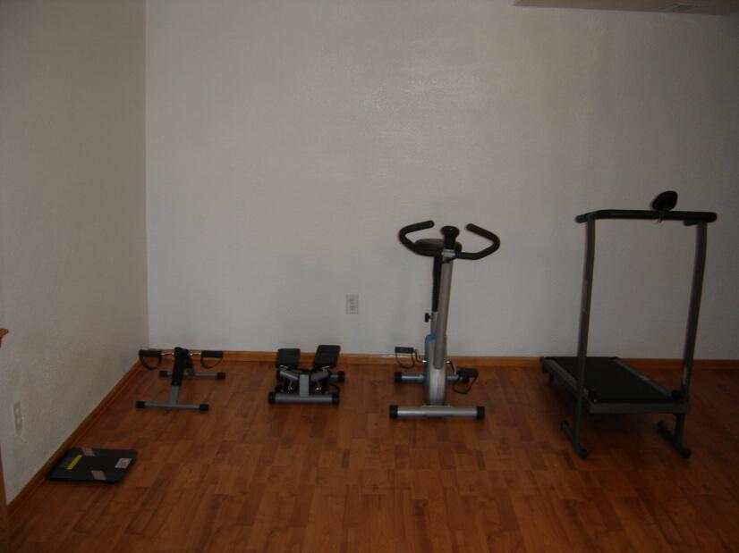 Basement Fitness Room