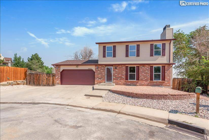 Furnished executive rental home in Thornton, Colorado