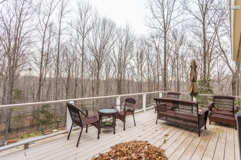 Deck with seating off Master Suite2