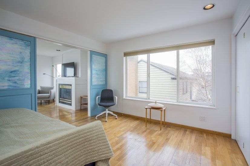 Front bedroom with doors open