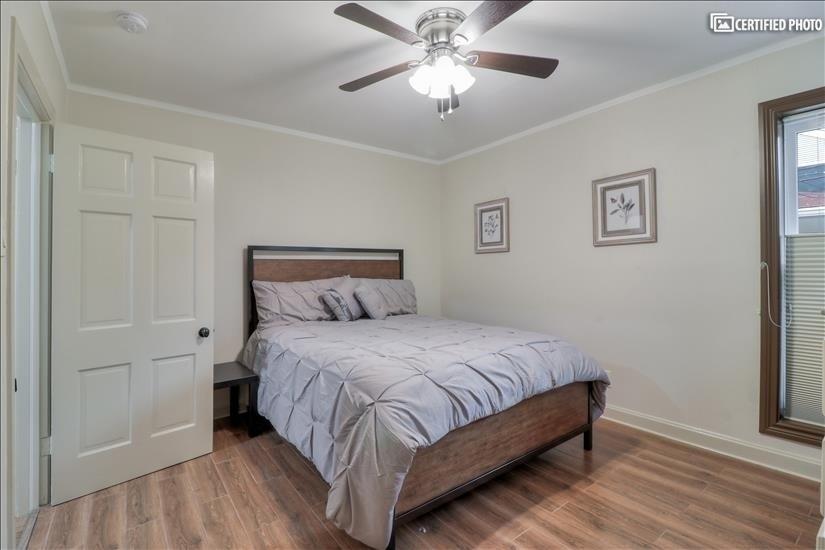 Third Bedroom - has a  Queen size bed.