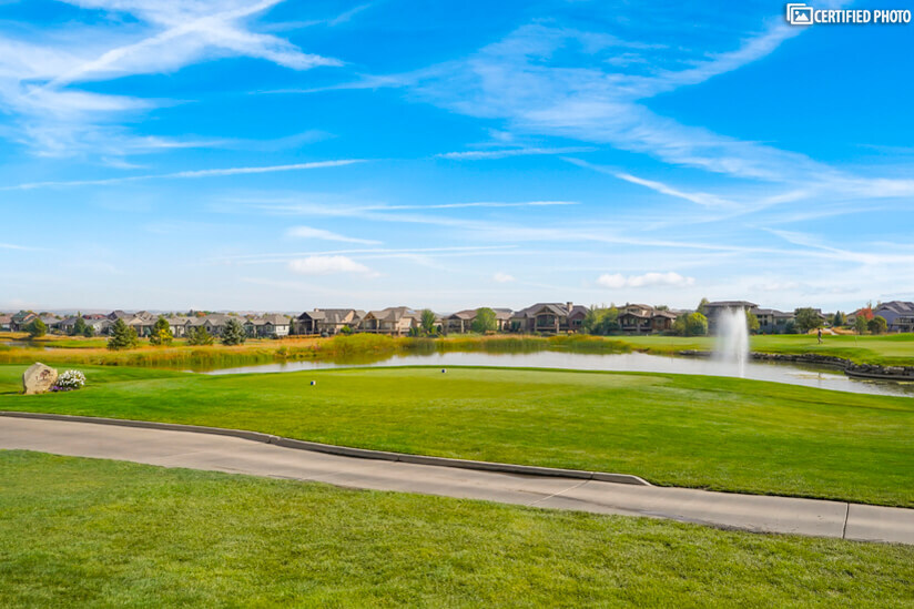 Golf course access is available at additional cost
