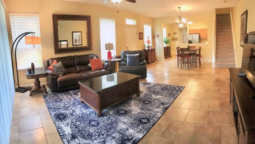 image 2 furnished 3 bedroom Townhouse for rent in Brandon, Hillsborough (Tampa)