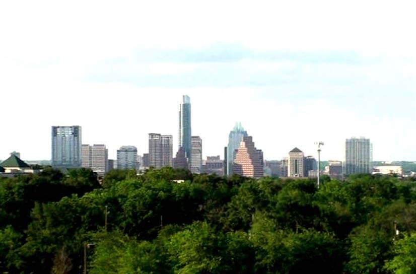 ...and take in the most beautiful view of the Austin skyline