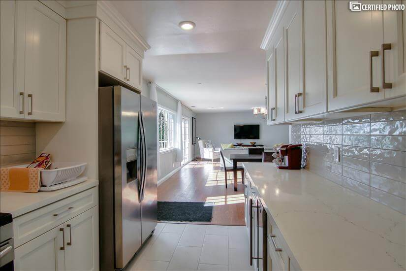 Ample Counter Space and Modern Design