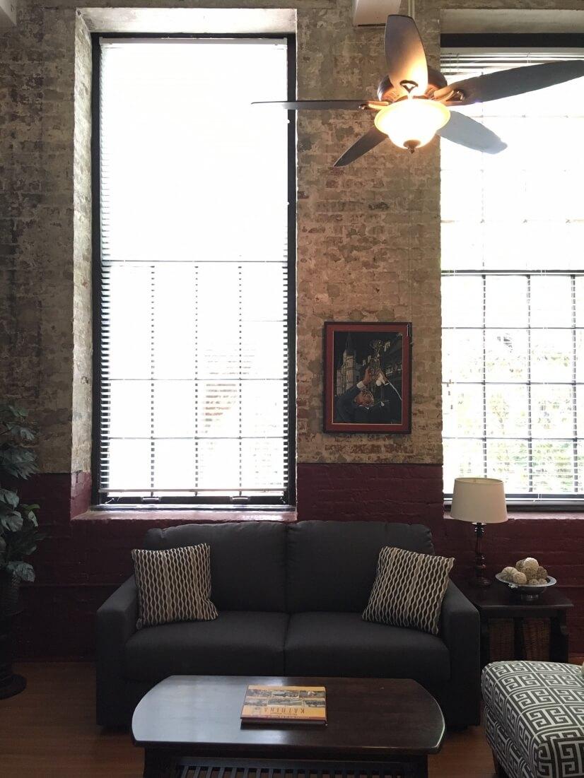 Living Room / sleeper sofa (queen)