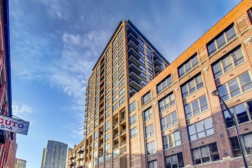 13th floor with skyline views