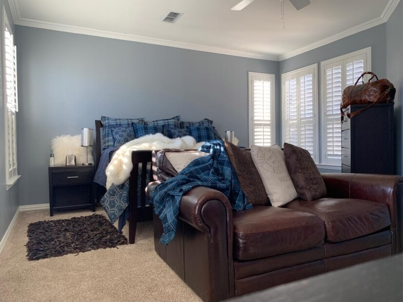 A bedroom fit for the master (or mistress) of