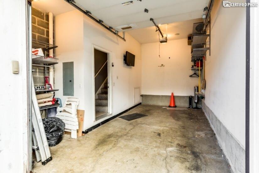 Attached Garage Space
