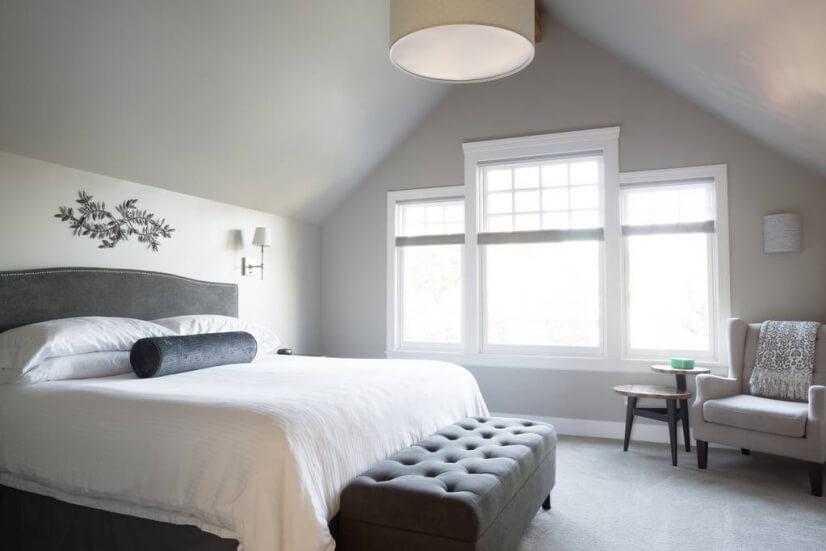 Master bedroom - full of light