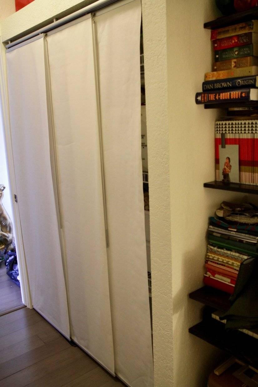 Walkthrough closet in first floor bedroom